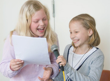 Rap-Workshop für Kinder in der Musikschule POW!